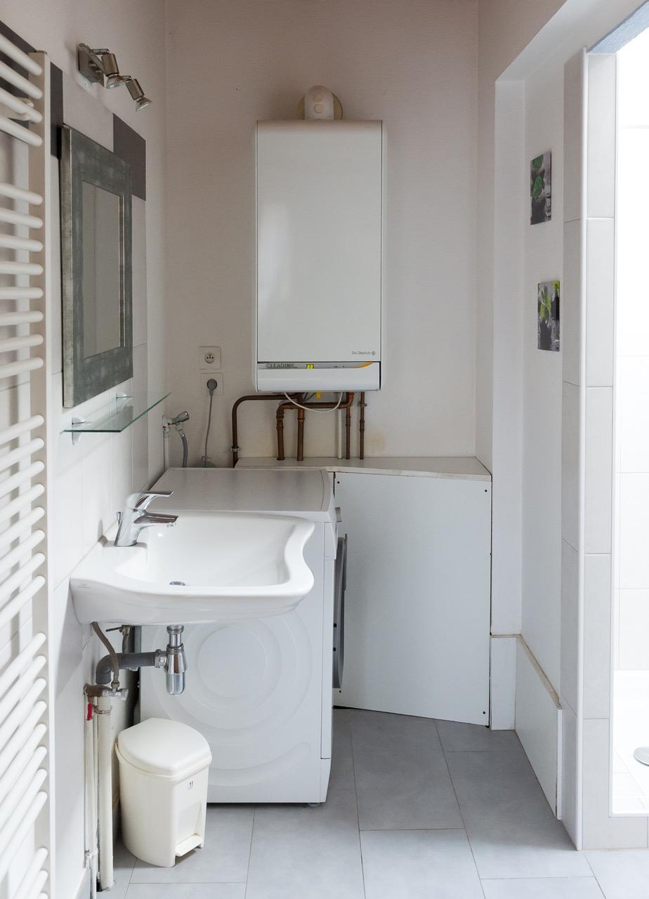 La salle de bain du gîte le pin